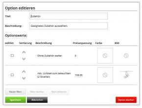 Produkt Konfigurator & Bundles - Selecty