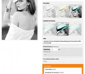 Produkt Konfigurator - Selecty